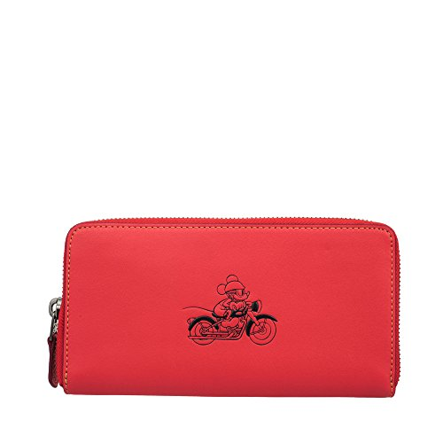MICKEY Accordion Wallet Leather Bright