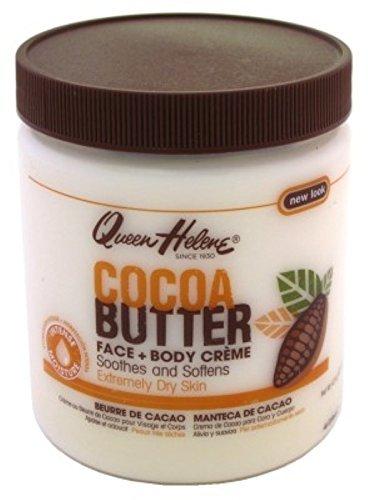 Queen Helene Jar Cream Cocoa Butter 15 Ounce (443ml) (6 Pack)