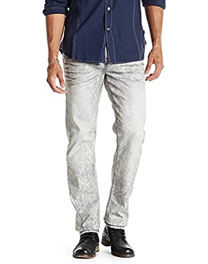 Men's Geno Relaxed Slim Fit w/ Flap Super T Jeans in Night Shifter