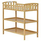 Dream On Me Emily Changing Table (Natural w/Changing Pad)