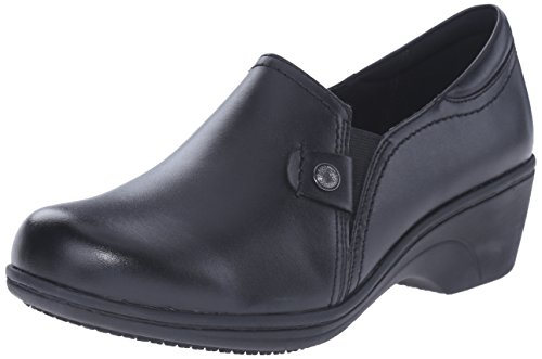 Aravon Women's Hope AR Slip Resistant Work Shoe, Black, 8...