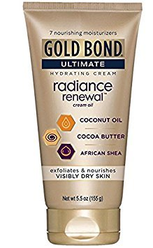 Gold Bond Ultimate Radiance Renewal Cream Oil, 5.5 Ounce (Pack of 2)