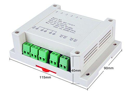 220 V 4 canaux sans fil WiFi Smart Switch Module de relais pour Smart Home, travailler avec Alexa, et Google Home Assistant & Ifttt, d'une meilleure Chien de Garde d' une meilleure Chien de Garde Mic Tecnology co. ltd