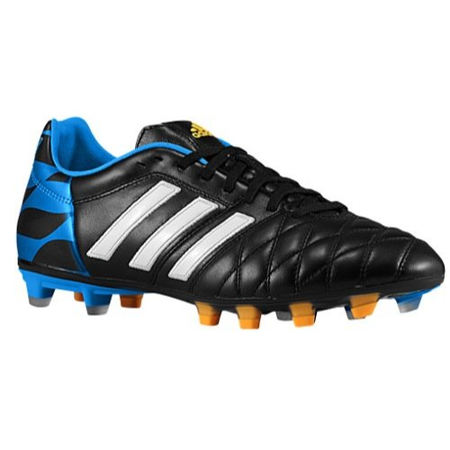 adidas 11Pro UEFA Champions League FG Soccer Shoes (Black) 7.5