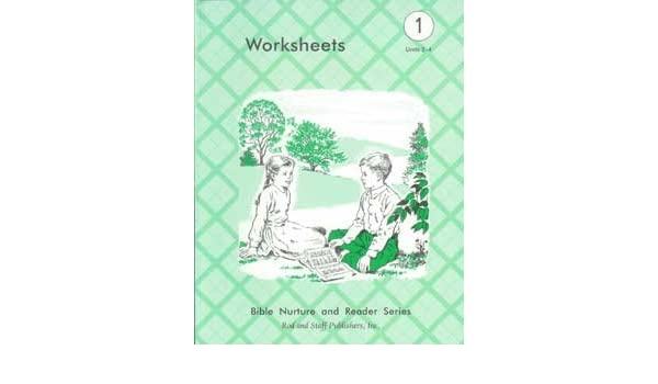 Bible Nature and Reader Series Grade 1 Units 2-4 Worksheets: Rod ...