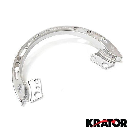 Krator HBK905 Logo Engraved Plates Suzuki GSXR 1300 Hayabusa Keychain Key Ring FOB Decal Motorcycle