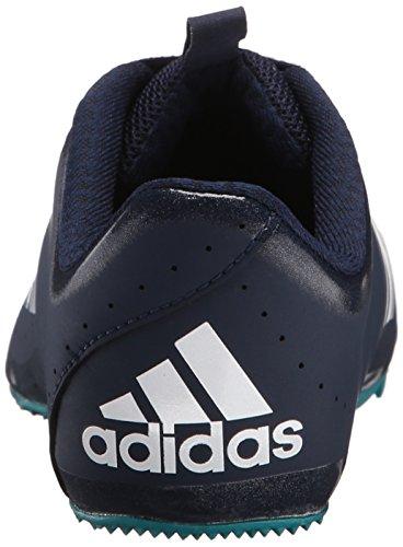 Adidas Performance Dames Sprintstar W Dames Sportschoenen Met Spikes Wit / Wit / Groen