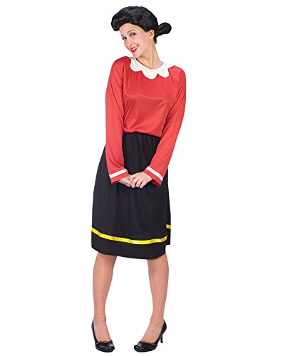 Olive Oil Costumes (Olive Oyl Costume Popeye Costume Comic Book Couples Costume Idea Movie Costumes Sizes: Small-Medium)