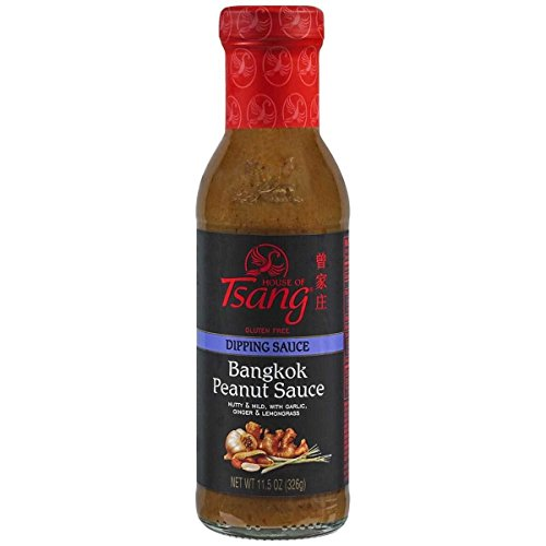 - House of Tsang Bangkok Peanut Sauce, 11.5-Ounce Bottles (Pack of 6)