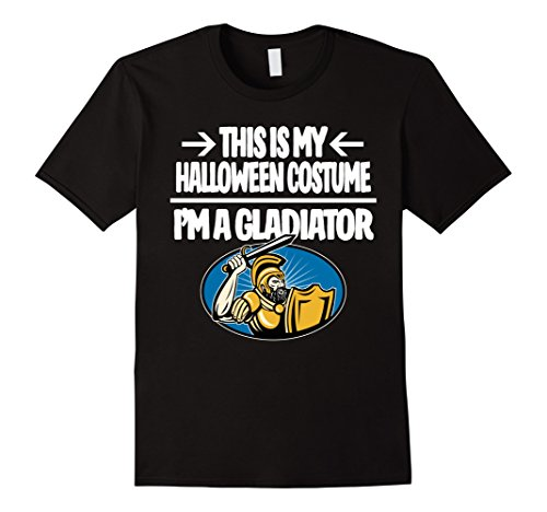 Mens Gladiator Halloween Costume Shirt - Men Women Youth Sizes 2XL (Roman Gladiator Clothes)