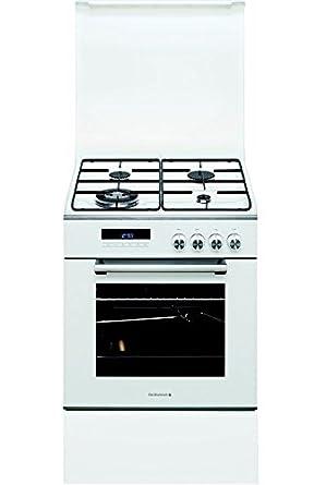 De Dietrich DCM1550W - Cocina (Cocina independiente, Blanco ...