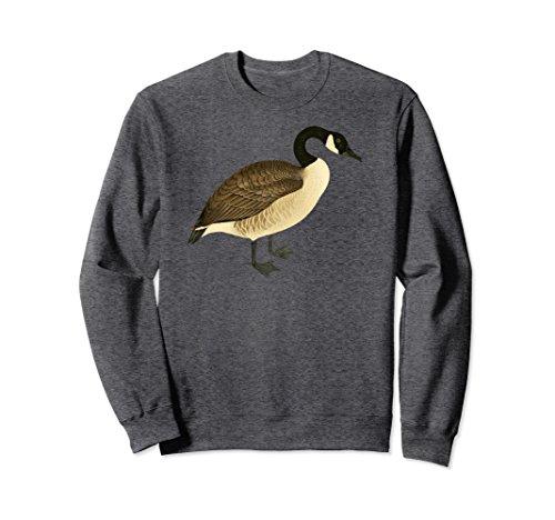 Unisex Canada Goose Sweatshirt Canadian Goose I love Canada XL: Dark Heather