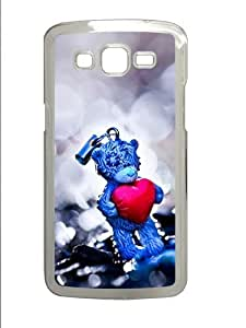 Love Struck PC Case Cover for Samsung Grand 2 and Samsung Grand 7106 Transparent