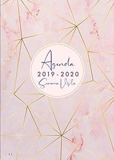Agenda 2019 - Takenote Marmol Rosa- Encuadernación Wire-o ...