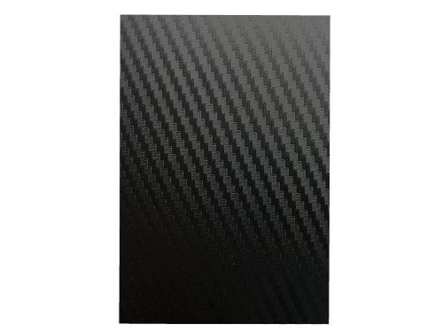 A4 Black Carbon Fibre Effect Vinyl Self Adhesive Sheet Grade A Quality, Craft Robo Silhouette Cameo Abelli