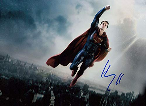 Henry Cavill (Superman) signed 8x10 photo