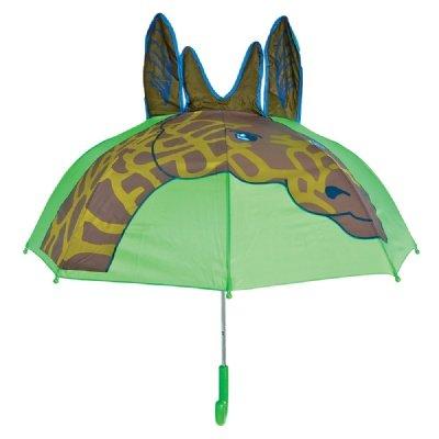 Giraffe Rain Animal Series Kids Shield Umbrella