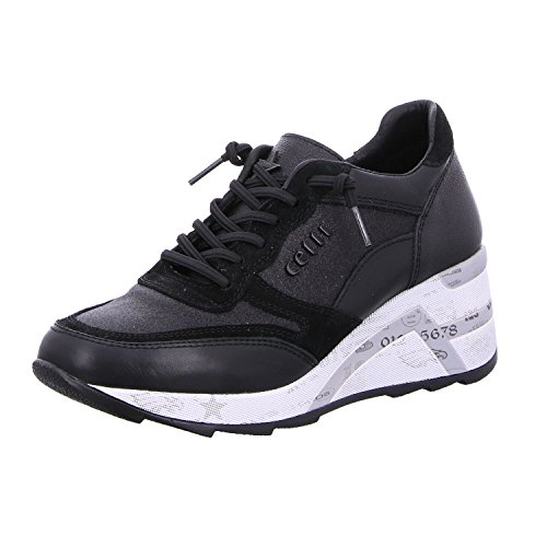 Cetti Women's Low-Top Sneakers Black
