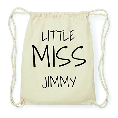 JOllify JIMMY Hipster Turnbeutel Tasche Rucksack aus Baumwolle - Farbe: natur Design: Little Miss 8N6WkFT