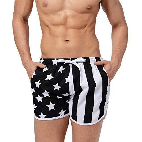 Hattfart Men's Swim Trunks Beach Board Shorts Bathing Suit or Same Men's Tank Tops