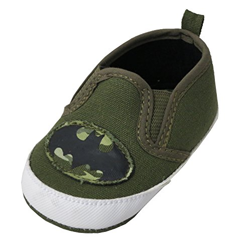 DC Comics Batman Camo Infant Twin Gore Sneakers, 9-12 months US