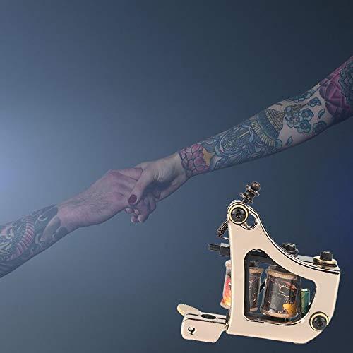 Equipo de tatuaje profesional Escudo cuadrado Máquina de tatuaje ...
