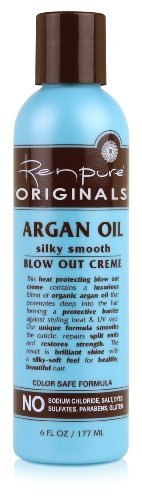 Renpure Originals Argan Oil Sily Smooth Blow Out Creme -- 6 fl oz by - Originals Out Out And