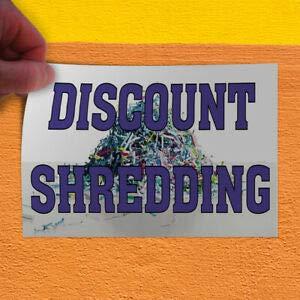 c390c176969db Amazon.com : KARPP Decal Sticker Shredding Business Shredding ...