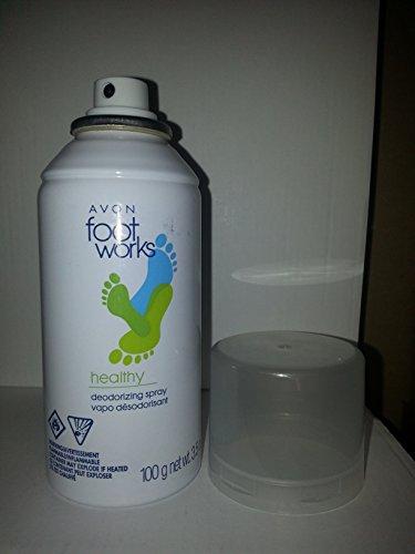Foot Avon - Avon Foot Works Healthy Deodorizing Spray 3.5 Oz.