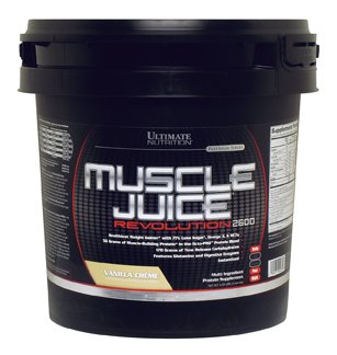 Ultimate Nutrition Muscle Juice Revolution 2600 - Weight & Mass Gainer (Vanilla, 11.1 lb) ()