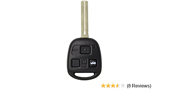 Keyless2Go New Uncut Keyless Remote Combo Flip Key Fob with Short Blade for Vehicles That Use FCC HYQ1512V