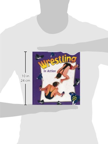Wrestling in Action (Sports in Action) by Brand: Crabtree Pub Co (Image #1)