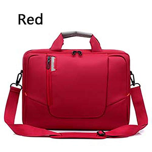 Laptop Bag 14 14.6 15 15.6 Inch Notebook Shoulder Bag Handbag for MacBook Pro 15.4 Inch,Red 204,14