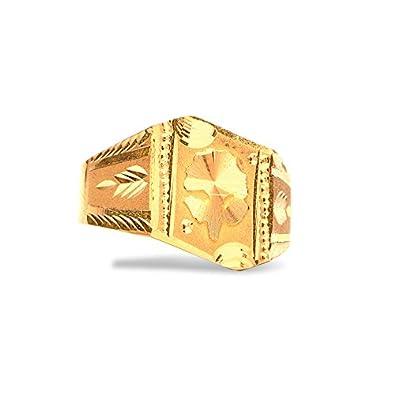 Senco Gold 22k 916 Yellow Gold Ring Amazon Jewellery