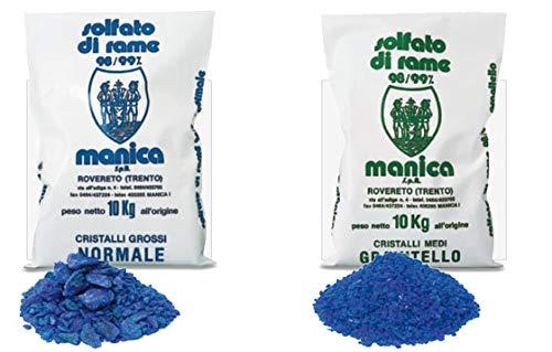 granitello–Kupfersulfat, Reinheit 98–99%, 10kg 10kg MANICA