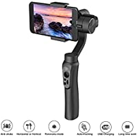 iphone Gimbal Zhiyun Smooth-Q 3-Axis Wireless Control Vertical Shooting for iPhone & Android Smartphone-Intelligent APP Control for Auto Panoramas,Time-Lapse,Tracking+Built in Phone Charge