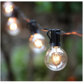 Amazon Com Solar Globe String Lights Innoo Tech Outdoor
