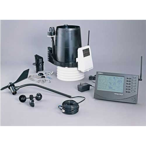 Davis Instruments 6162, Vantage Pro2 Plus Wireless Weather Station with UV & Solar Radiation Sensors, 1 pc ()