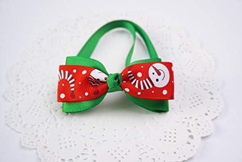 POIUY A Suministros Cinta Mano Hermosas para Perros Navidad ...
