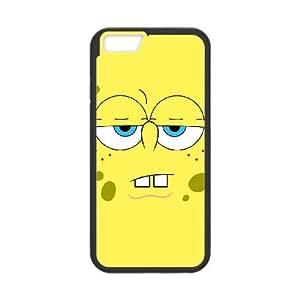 iPhone 6 Plus 5.5 Inch Cell Phone Case Black Sponge Bob lrmr