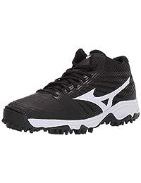 Mizuno Men's Ambition All Surface Mid Turf Softball Shoe