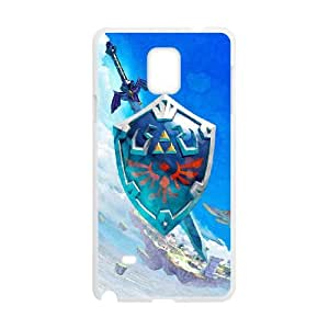 Samsung Galaxy Note 4Cell Phone Case White The Legend of Zelda srtj