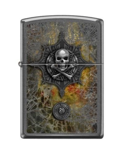 Have one to sell? Sell now Zippo 28378 Anne Stokes IncShop Collection Skull & Crossbones Lighter (Air Force One Halloween Edition)