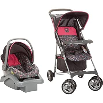 COSCO COMMUTER COMPACT TRAVEL SYSTEM CAR SEAT 4 22 LBS STROLLER BABY INFANT