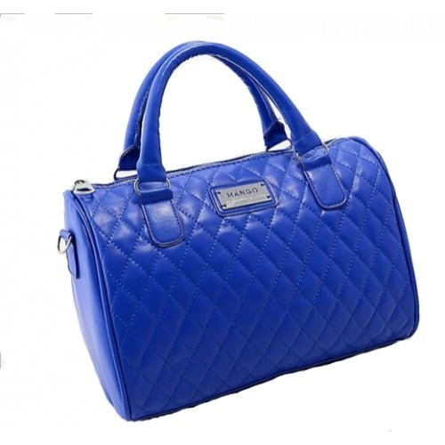 Sac à main noir matelassé MANGO, sac tendance matelassé, sac noir MODE 2014, petit sac noir - Blu, Sac à Main