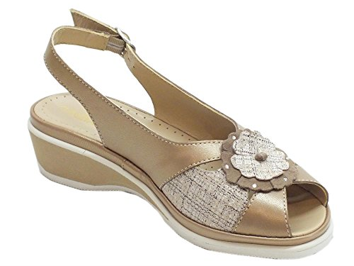 Perl Women's Sandals Fashion Soft Oro Cinzia Perl Ip140f PM Oro gp8xUw7q