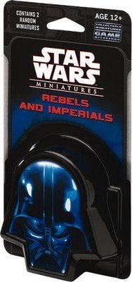 Star Wars CMG Miniatures Game Rebels and Imperials Booster Pack ()
