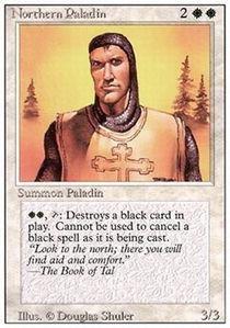 Magic: the Gathering - Northern Paladin - Revised Edition
