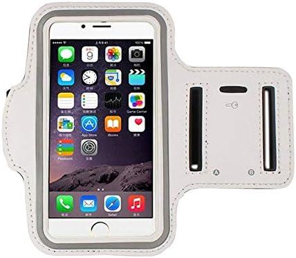 YDFSBB Universal Sport Arm Band para iPhone X 6 7 8 XS XR para Huawei para Xiaomi Redmi Sport Armband Belt Gym Bag Fundas para Teléfono 5.5 Pulgadas Blanco: Amazon.es: Deportes y aire libre