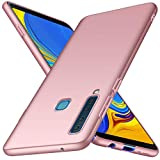 Samsung Galaxy A9 2018 Case, Almiao [Ultra-Thin] Minimalist Slim Protective Phone Case Back Cover for Galaxy A9 2018 (Smooth Pink)